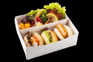 ランチBOX(B)海老カツ× ローストビーフ× ポテトサラダ